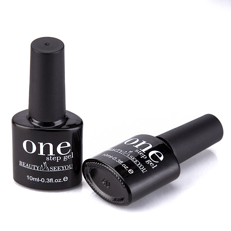 Money-saving One Step Gel Polish No Base Coat And Top Coat One Step Nail Art