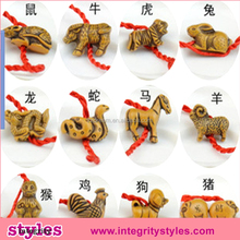 Chinese Zodiac Wood Fashion Bracelets 2015