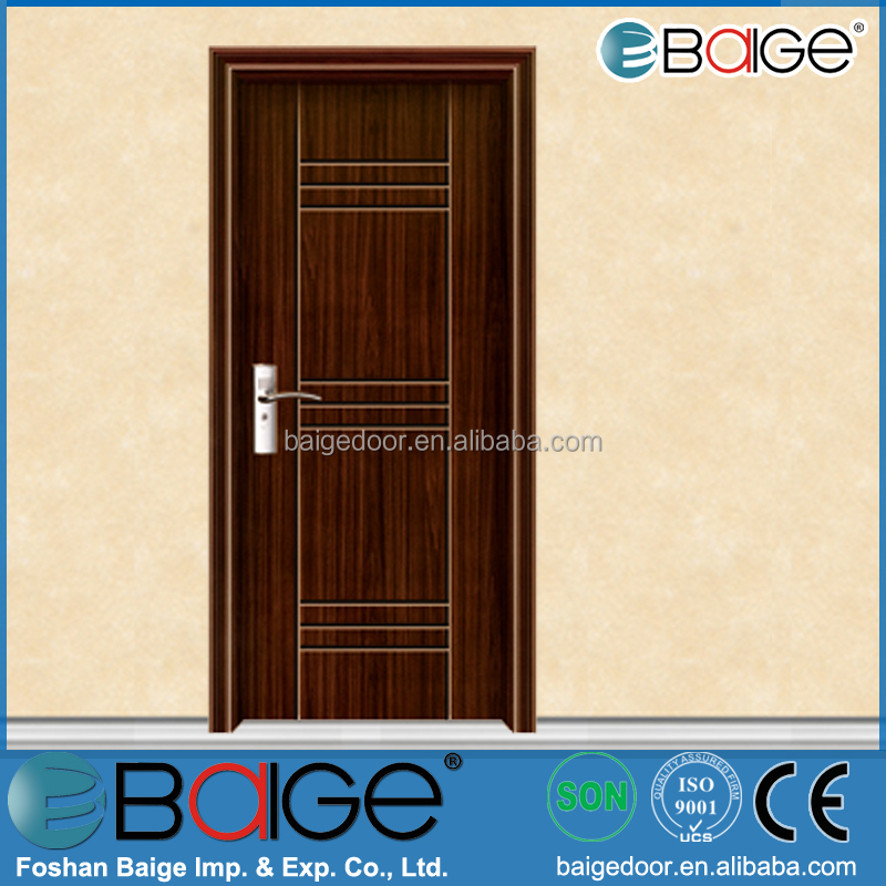 BG-P9029 PVC Sliding Door Price for Bathroom / PVC Door Mulding