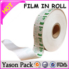 Yason poping candy packaging film roll cosmetic packing facial mask bags customized printing wrapping roll film with tear tape