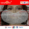White disposable non-woven surgical pp beard covers
