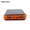 hot!! 2016 new solar powerbank slim solar panel power bank charger 20000mah for external charger