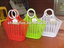 plastic basket/plastic shoping basket/plastic basket for fruit & vegetable