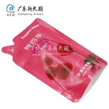 Superior printing pouch plastic bags washing powder bag for detergent packaging