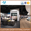 Customized Metal Wooden Clothing Store Boutique Display Racks