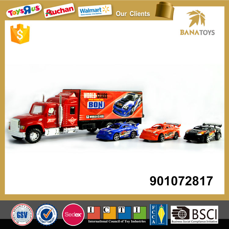 Friction power super big truck toys
