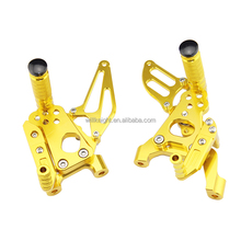 CNC Adjustable Rearset Rear Set Footpegs for Honda Yamaha Suzuki Kawasaki Ducati Triumph