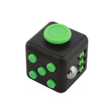 Mini cube puzzle toys popular school desk toy fun stress reliever fidget cube anti stress for adult children toys