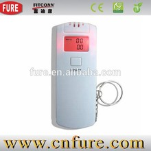disposable alcohol tester, breath alcohol tester with printer, digital alcohol tester with lcd clock (AT-02)