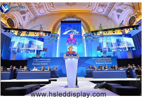 Ultra-HD p2.5 indoor rental full color led display screens