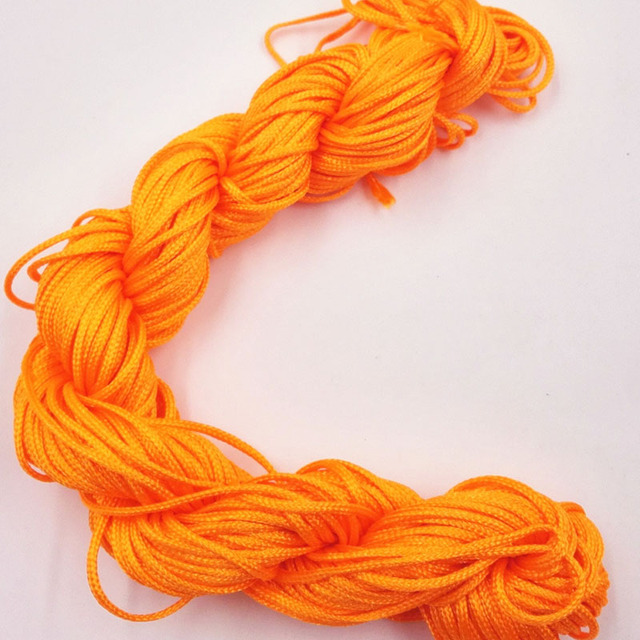 26M(1021 inch) Length & 1mm Diamter Chinese Knot Macrame String Wire Cord Thread for DIY Necklace Bracelet  Braided String