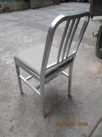 Aluminium alloy dining chair coffee chair 111 navy chair