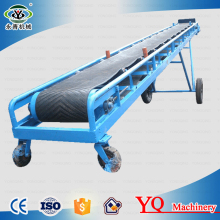 High inclination angle food industry coffee flour belt conveyor