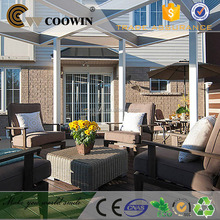 High Quality Co-extrusion Hollow wpc outside decks