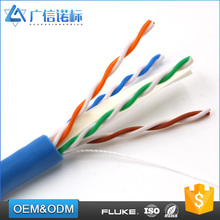 0.52 / 0.54 / 0.56 / 0.57 mm Conductor OD UTP cat6 lan cable net 4 pairs copper cable ethernet