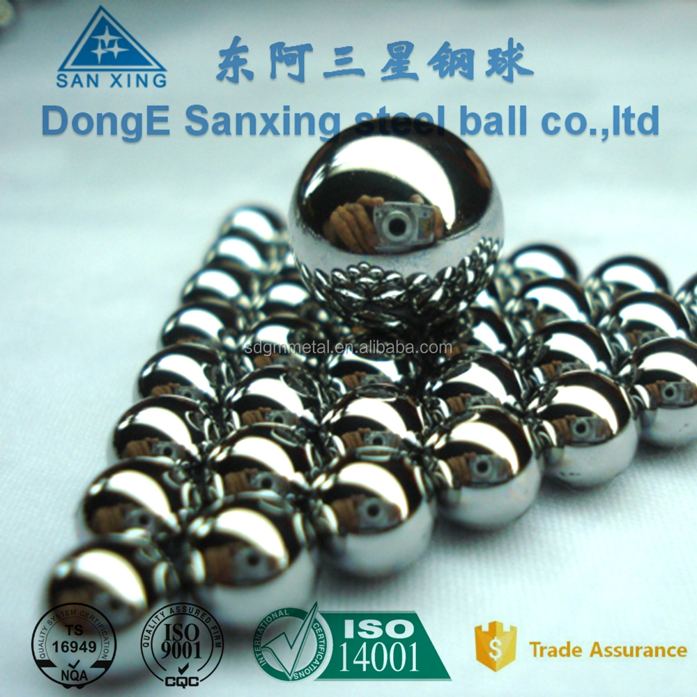 High polished G100-G1000 AISI 304 316 440 420 stainless steel balls