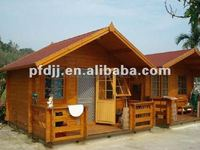 2012 Latest Design With High Quality And Low Price Prefabricated Wooden Frame House