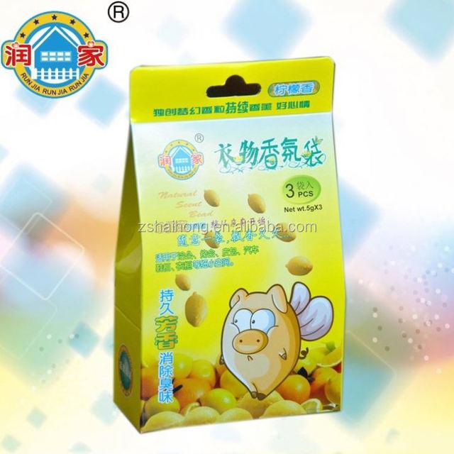 China wholesale clothes scent sachet, scented paper sachet, aroma scent sachet bag air freshener