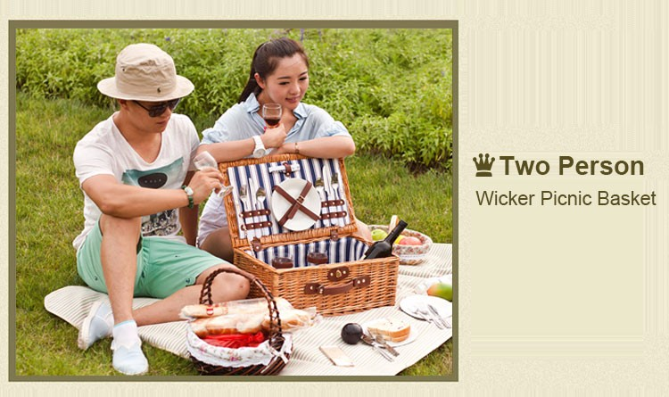 Gift Basket TWBS-16803;Picnic Basket;Nice Cooler Bag