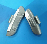 Zinc/ZN Cam-back Design Clip-on counter wheel weight