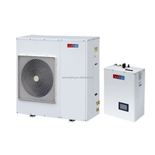 6KW dc inverter air water heat pump 220v split type