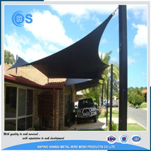 Low price plastic curtain sun shade net/balcony screen