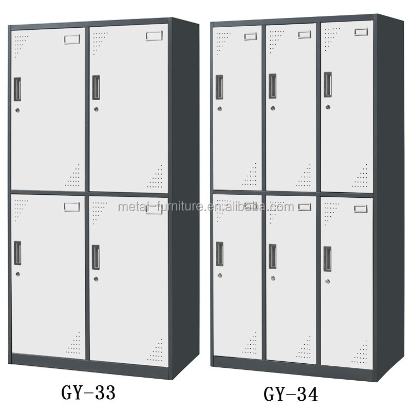 China Top quality furniture factory Steel locker , Clothes cabinet , Metal wardrobe