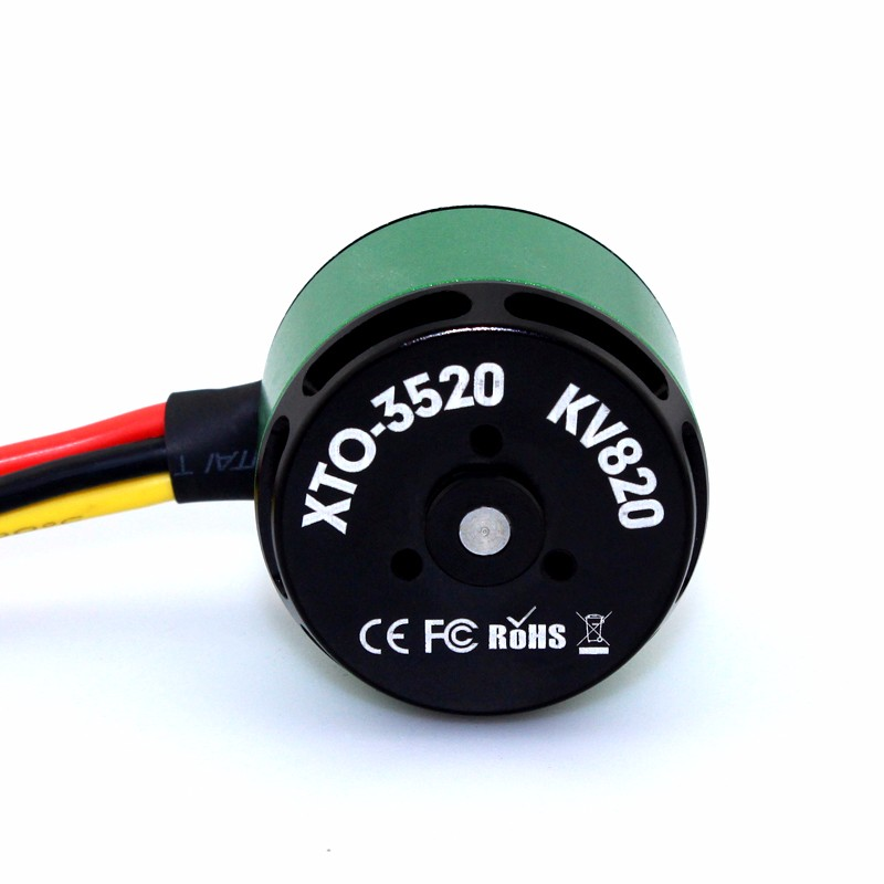 XTO-3520 820kv X-Team Outrunner DC Electric Brushless Motor for RC Airplane