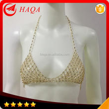 Harness Rhinestone Bra Jewelry Body Chain Jewelry Necklace