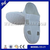 ESD Anti Static Safety Shoes with Leather Vamp