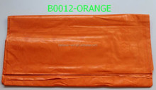 China supplier 100% cotton fabric indian jacquard brocade fabrics B0012 orange
