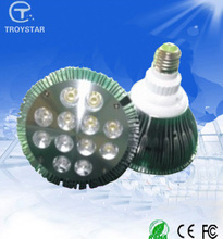 CE ROHS approved LED 9w 12w PAR light E27 220V cree 12w led Spotlight dimmable