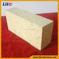 Standard size refractory spalling resistant high alumina brick for aluminium scrap melting