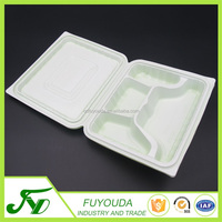 2016 latest plastic bento box environmental disposable foamed PP food container