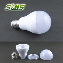 A60 New smd2835 Led housing plastic bulb housing