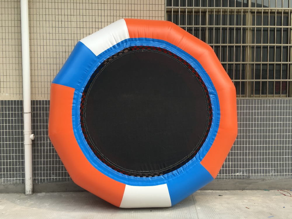 2017 outdoor entertainment sport games/ Customized Inflatable Water Trampoline/cheap inflatable water trampoline for sale