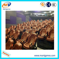 Convenient to transport and install 5d 6d 7d 12d cinema with 6dof motion platform