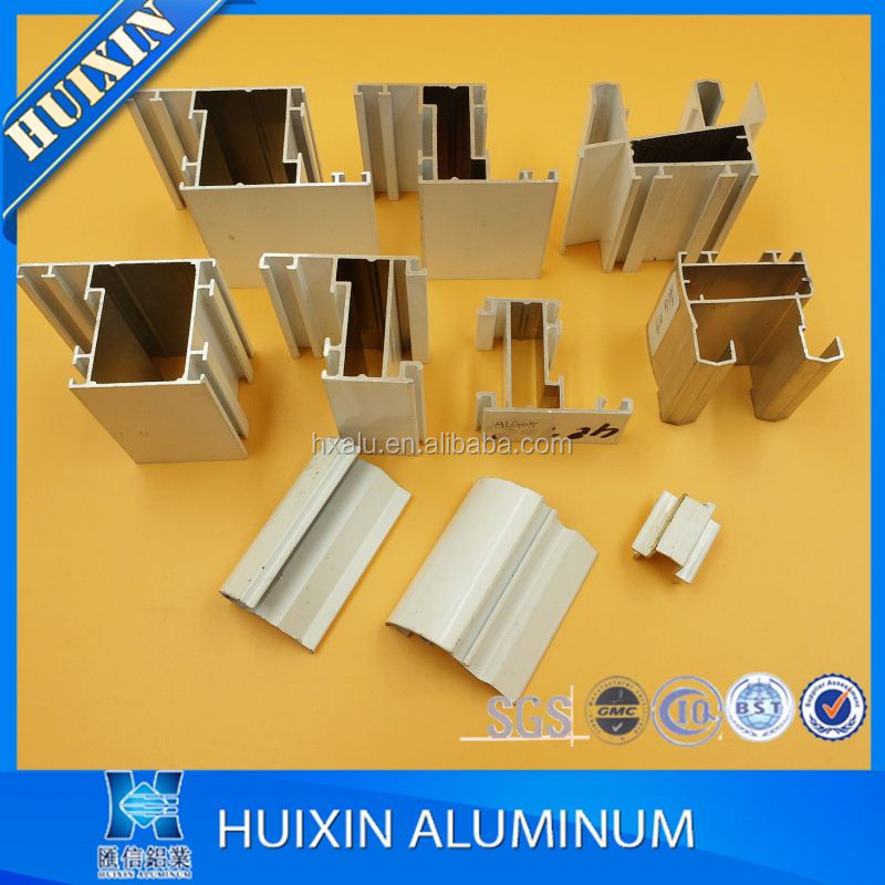 Algeria mill finished aluminum alloy profile window and door