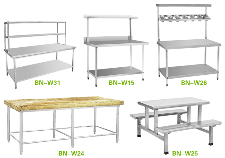 Restaurant Kitchen Table furniture: tremendous stainless steel prep table for captivating