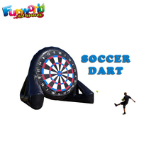 Inflatable football game safe soccer darts inflatable football dartboard sport