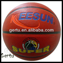 shiny basketball,pu leather basketball