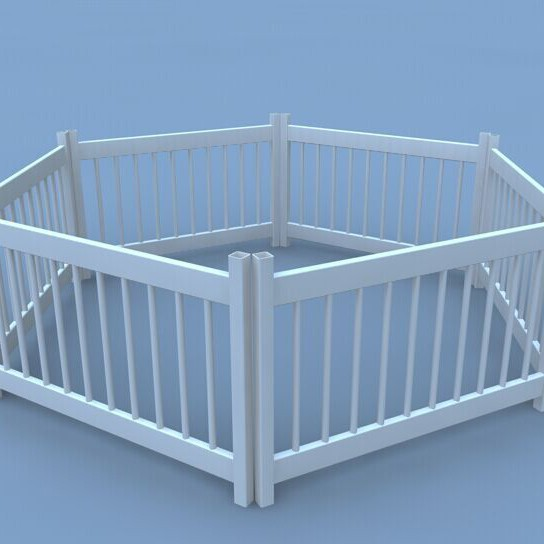 high quality beautiful strong dog run fencepvc dog run fence