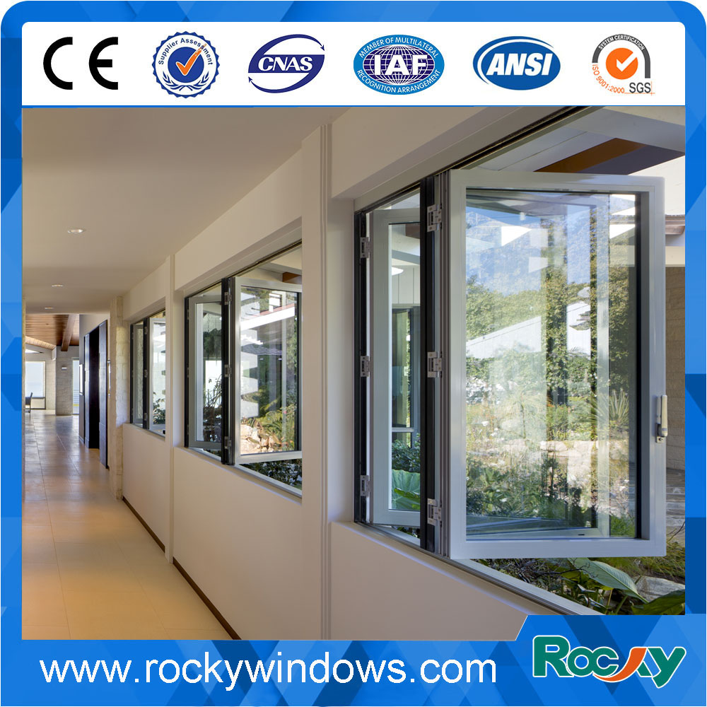 Superhouse double glazing Bifolding window aluminium folding window