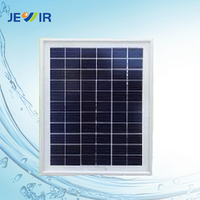 6 cell photovoltaic poly panel 25W used solar module laminators
