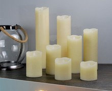Matti's led window candle lights frosted cover