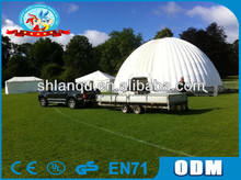 gaint inflatable cube dome event tent for sale