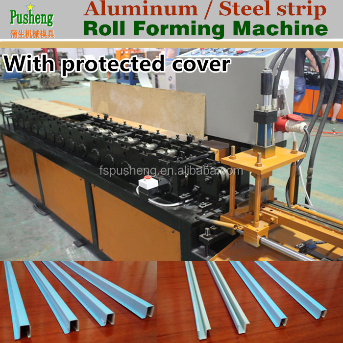 Factory making full production line metal strip profile cold roll forming machine