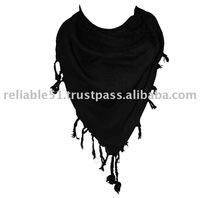 All Black Arab Scarf