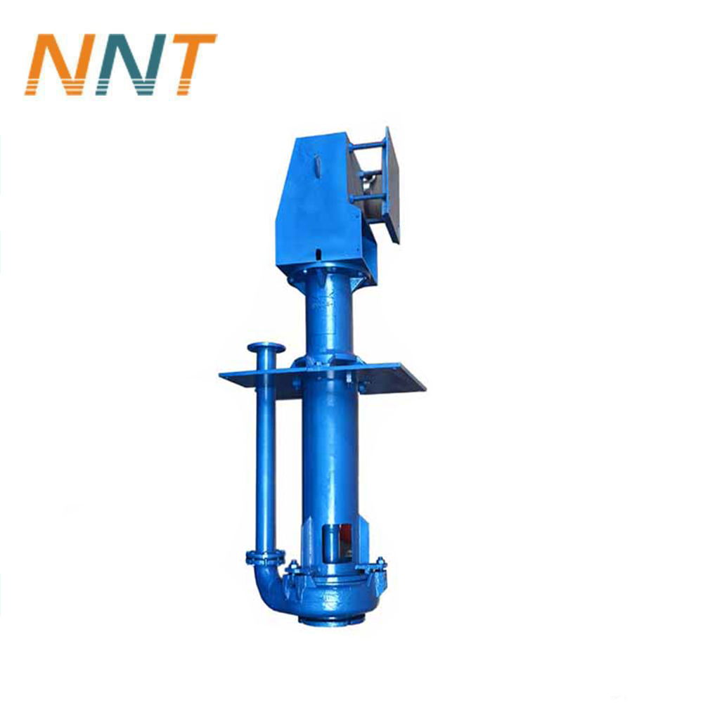 Underwater sump oil-free slurry pump with long shaft for slurry mortar