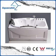 ABS Board Massage Bathtub with Stainless Steel Handle